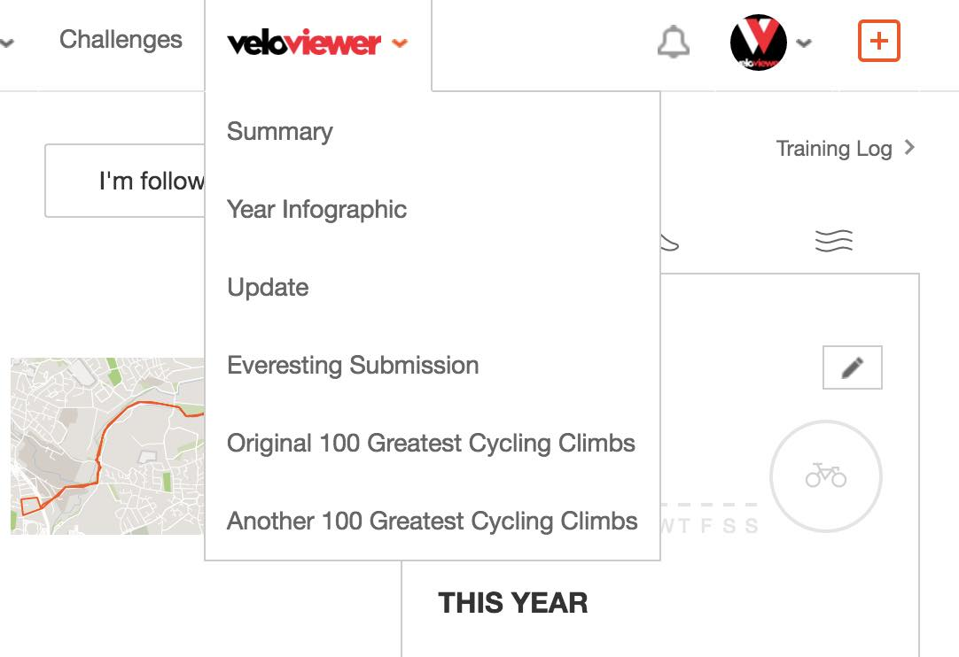 VeloViewer Chrome Extension for Strava Website | VeloViewer