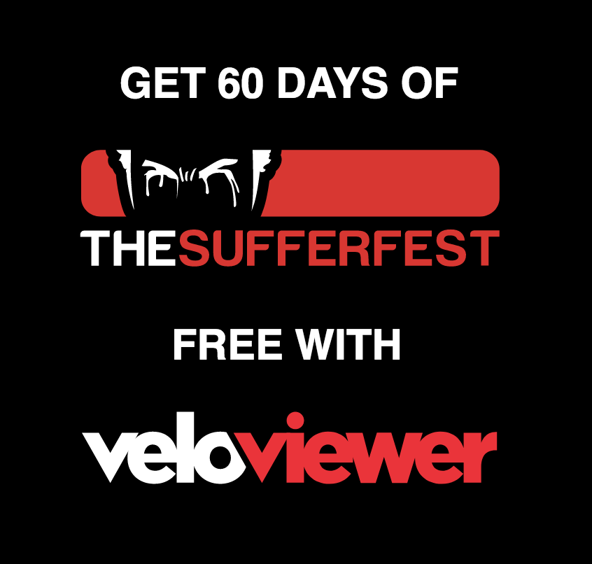 60 Days of The Sufferfest for Free with VeloViewer PRO