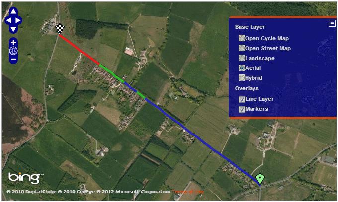 Bing Aerial Map