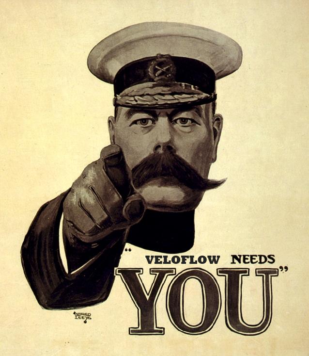 VeloFlow Needs You